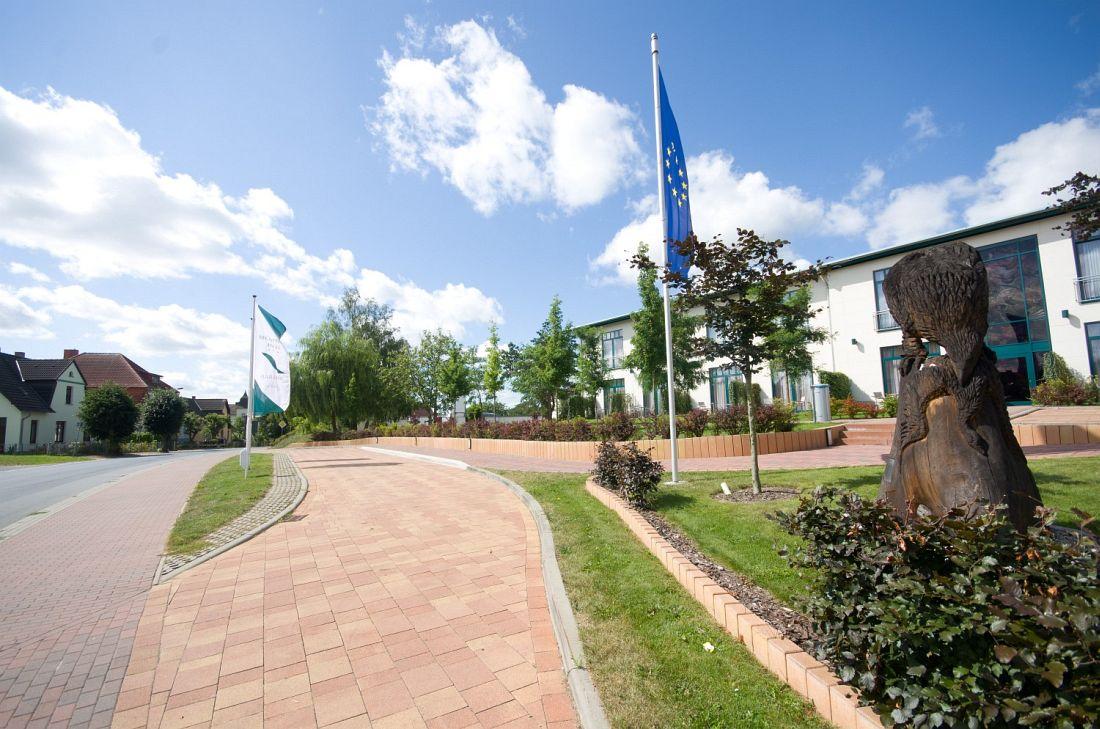 Außenanlagen Recknitztal Hotel