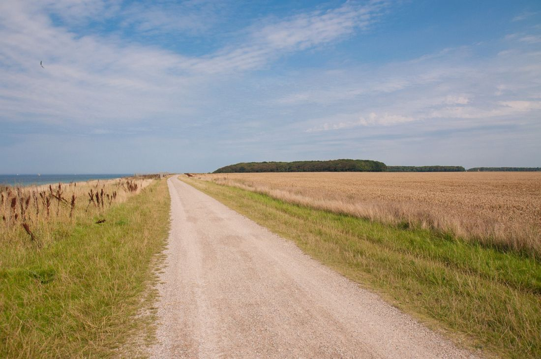 Ostseeradweg Abschnitt Börgerende