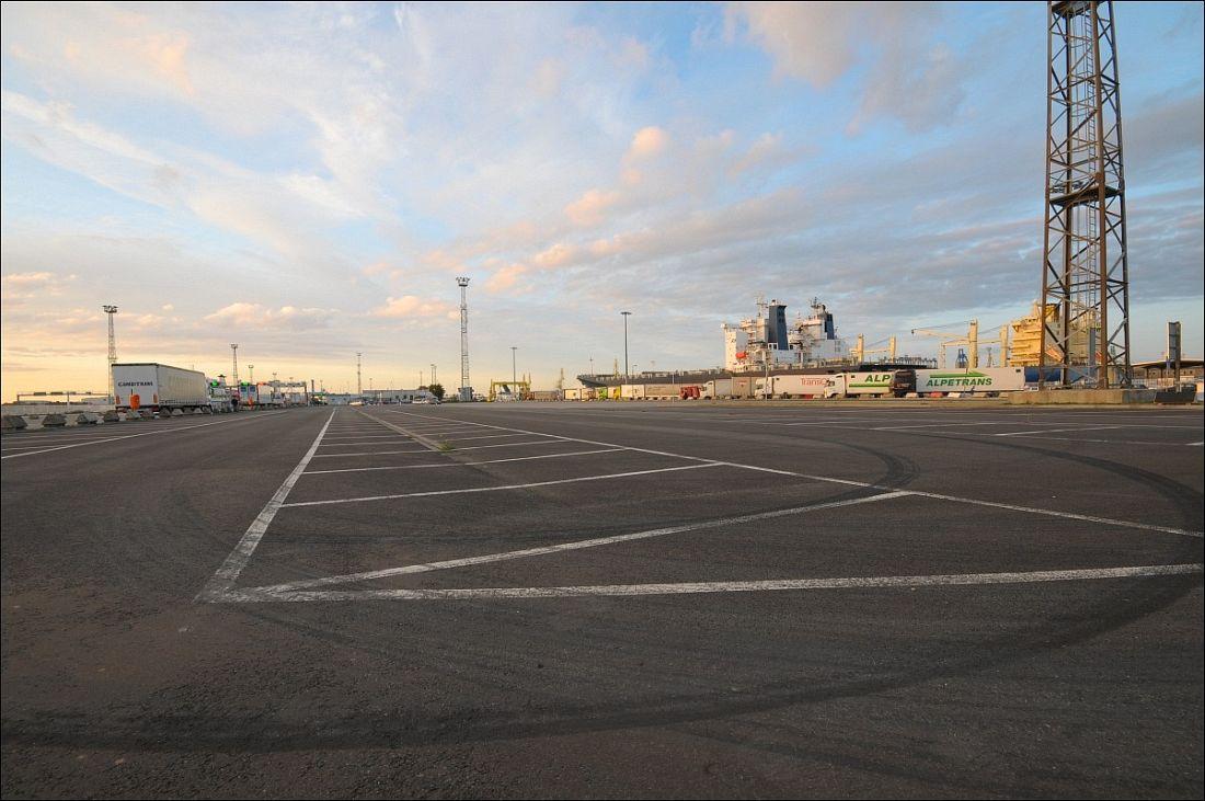 PP Faehrterminal Seehafen Rostock