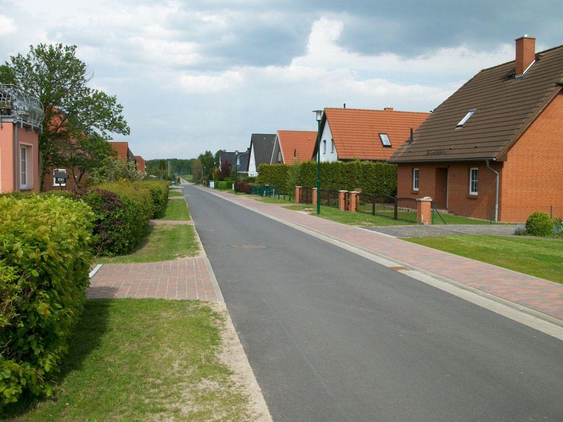 Wegebau Wulfshäger Straße Blankenhagen